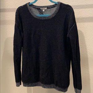 BB Dakota black heathered sweater